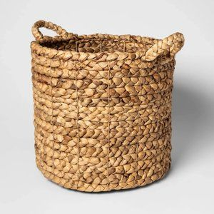 New Braided Seagrass Basket
